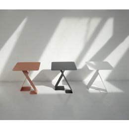 Dance Tisch von ignore - anthrazit, weiß oder rotbraun unter shop.holland.com