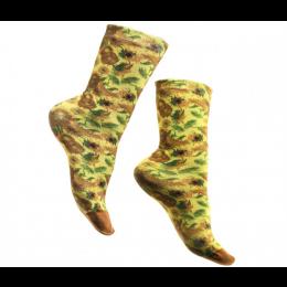 Van Gogh Socken Sonnenblumen -  schön zum Vatertag